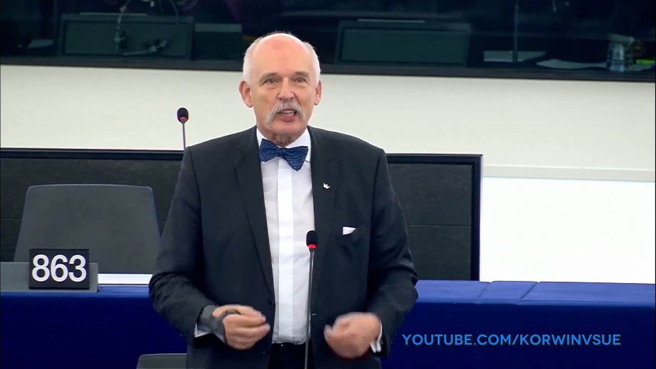 Janusz Korwin-Mikke o zmianie czasu (sesja plenarna 08.02.2018)