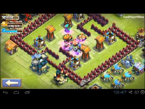 Castle Clash [HD+] Base Design Townhall 6-9 Strategy ★ Schloss Konflikt [DEUTSCH]