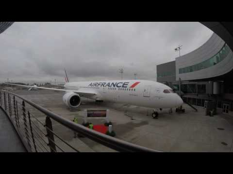 Time lapse - Delivery Center Boeing - Dreamliner Air France - 1er décembre 2016