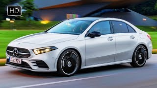 2019 Mercedes-Benz A-Class Sedan Design Overview & Driving Footage HD