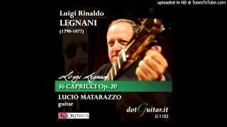 Caprice No. 7 Prestissimo - Legnani - Lucio Matarazzo