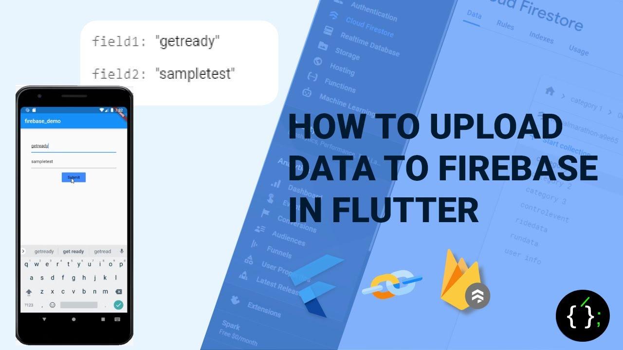 Download How to upload data to firebase in flutter   Cloud Firestore   Flutter Tutorials