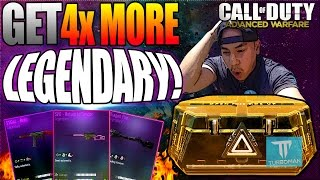 """HOW TO GET MORE LEGENDARY WEAPONS IN COD AW!"" ★ GET ""4X MORE"" LEGENDARY GUNS! (AW: Legendary Tips)"