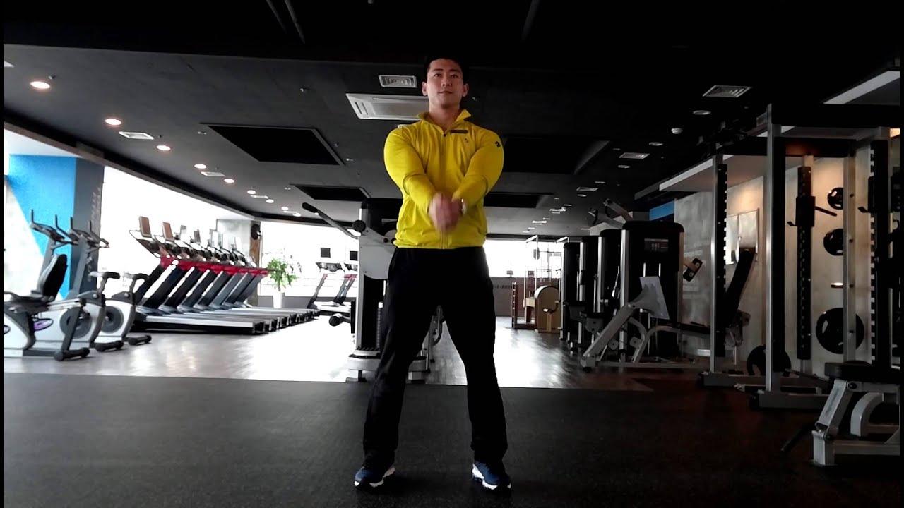 여성 근육 운동 팔뚝살 빼는 운동 간단한 다이어트 운동 암 플렉션!!