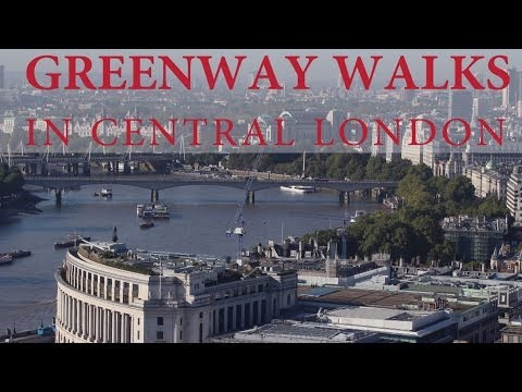 London's Royal Parks Greenway Walk and River Thames Path Whitehall Link