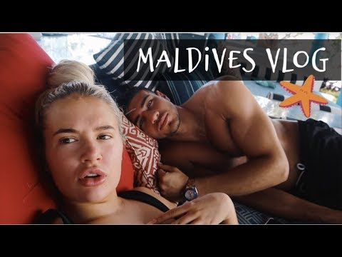 MALDIVES VLOG- THE BEST HOLIDAY OF MY LIFE. PT 1