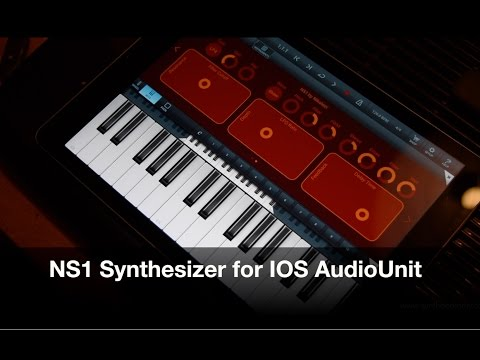 NS1 Synthesizer for IOS AudioUnit