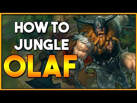 How to: Olaf Jungle Guide | League Patch 8.8