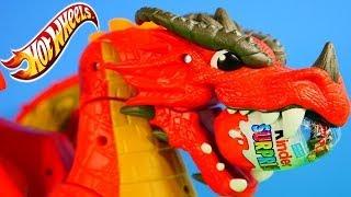 new play doh surprise eggs hot wheels disney pixar cars 2 kinder surprise toy egg dragon track