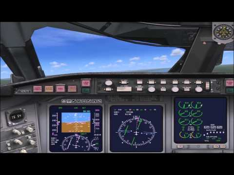 FSX Bombardier CR700 Griffiss Intl Airport to Syracuse Hancock Intl Airport with ILS Landing