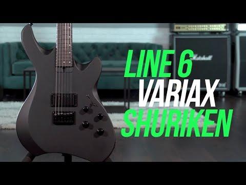 Line 6 Variax Shuriken Demo