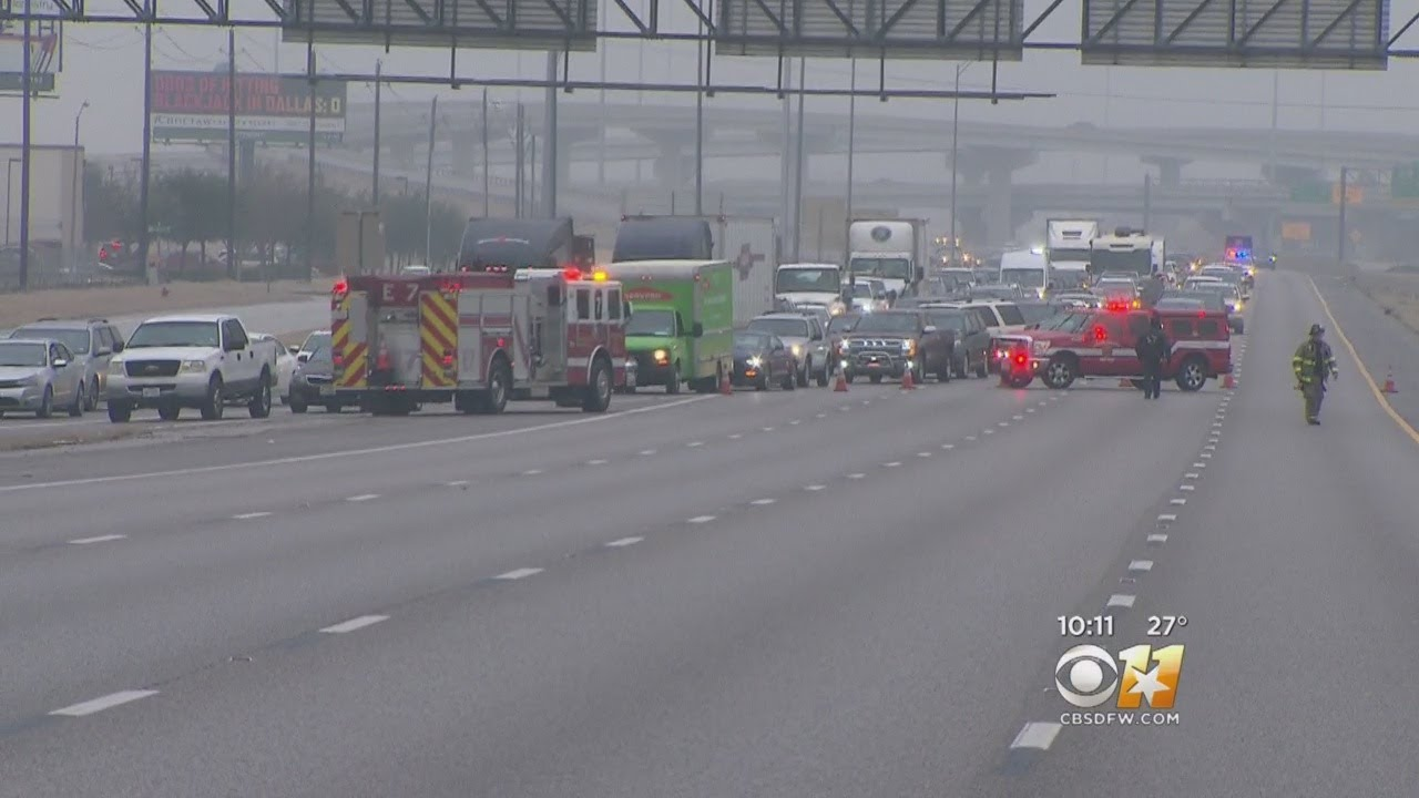 Icy Conditions, Accidents Plague North Texas On New Year's Eve