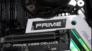 LiveDash OLED オリジナルロゴアニメ - ASUS PRIME X299-DELUXE II