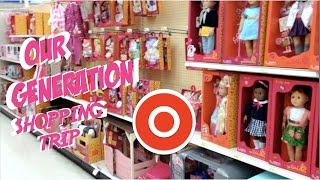 Our Generation Shopping Vlog at Target for American Girl Dolls