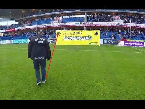 Quand les fans font des exploits (stade de foot)