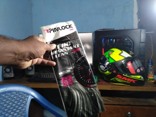 SMK Twister | Pinlock Visor |  How to Install on any full face helmet with the feature