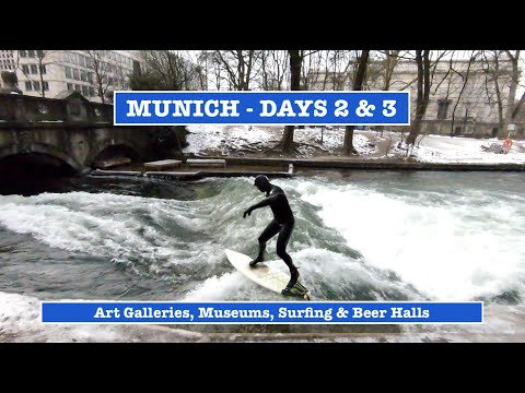 munich---explore-art-galleries,-museums-and-watch-a-surfer!