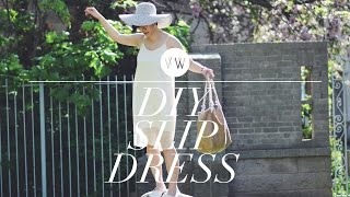 How to Make a Slip Dress | WITHWENDY
