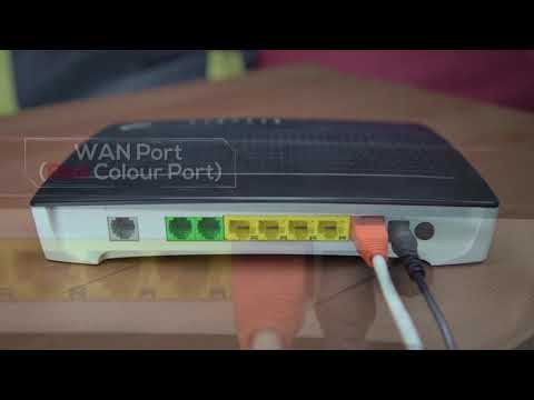 Astro Iptv Maxis General Cable Connection Youtube