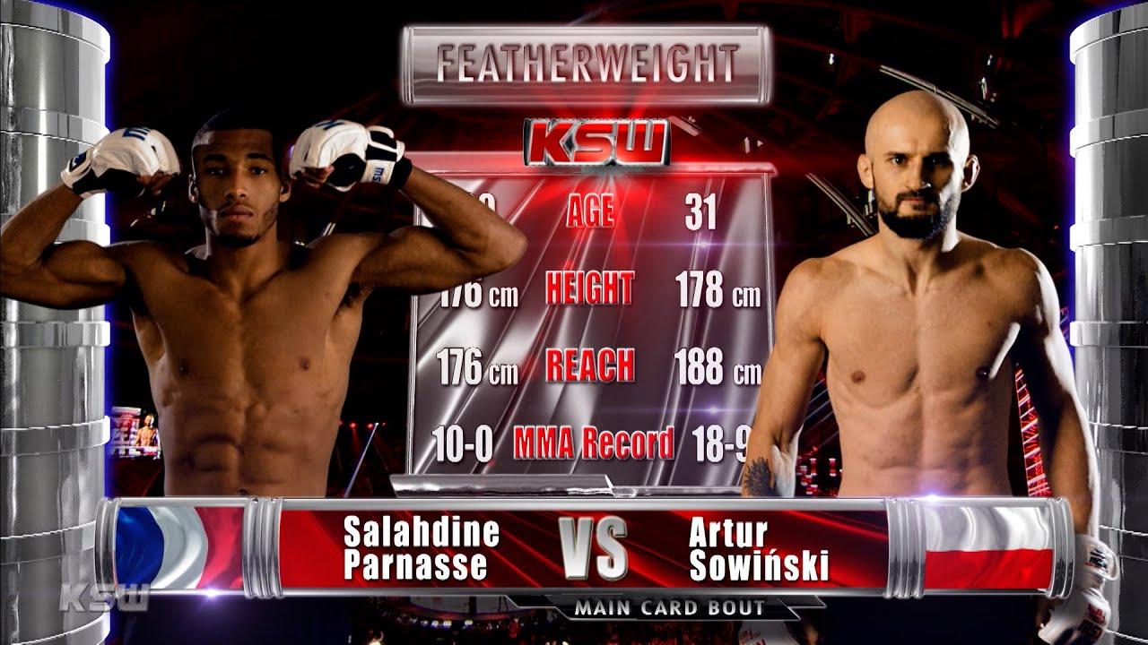 Download KSW Free Fight: Salahdine Parnasse vs Artur Sowiński | KSW 61