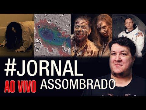 J.A.#154: Ligação Estranhas Polícia! Astronautas Modificados Geneticamente! Vida em Marte - 동영상