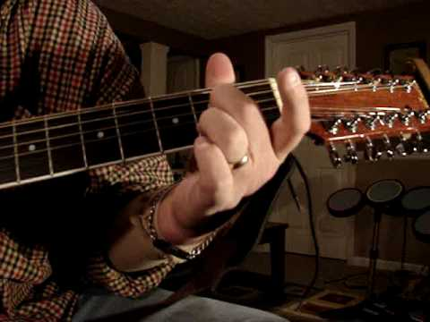 JOURNEYOPEN ARMS 12 STRING ACOUSTIC GUITAR !!!