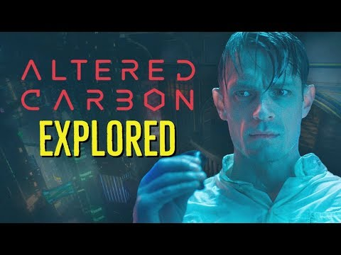ALTERED CARBON 2018 Cortical Stacks  Sleeves EXPLORED