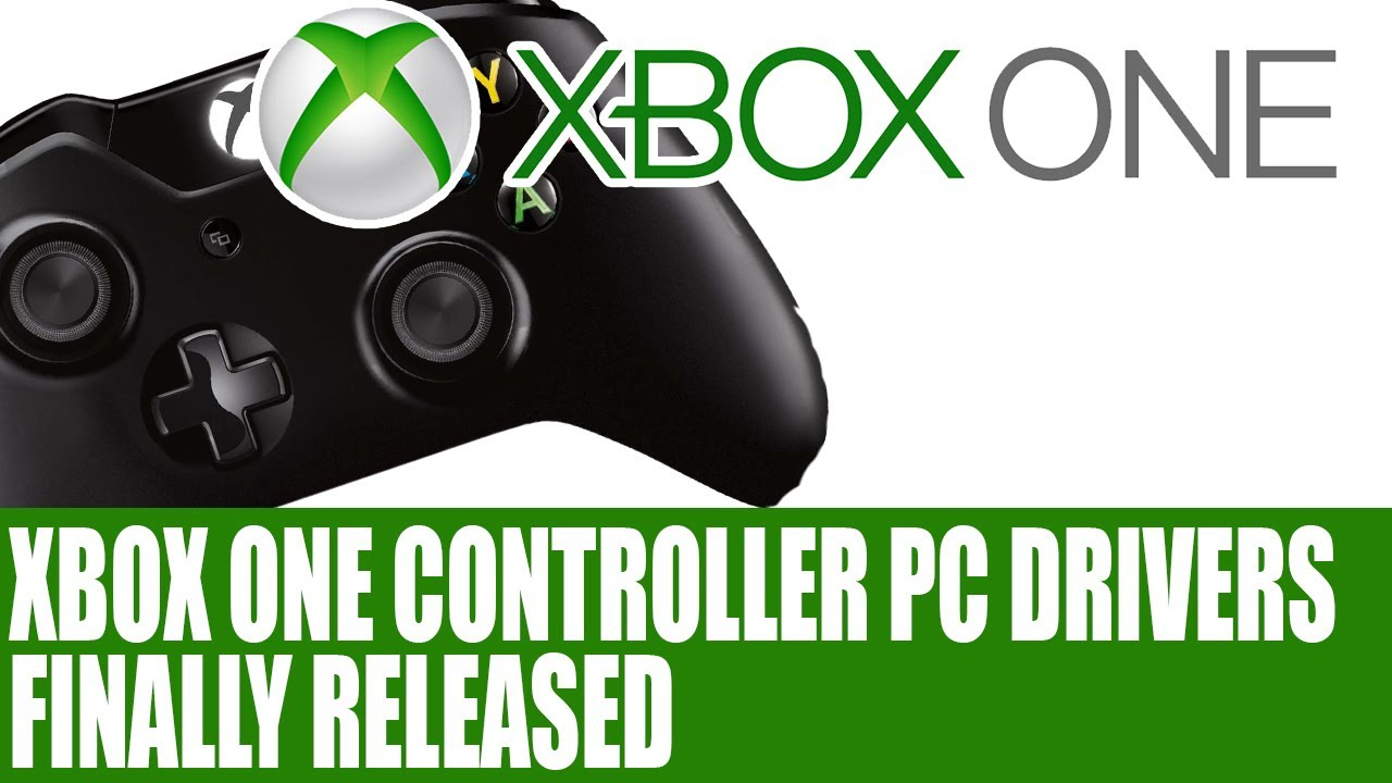 Microsoft News - Xbox One PC Controller Driver Support Released - Info