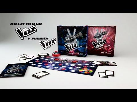 Juego De Mesa La Voz Youtube