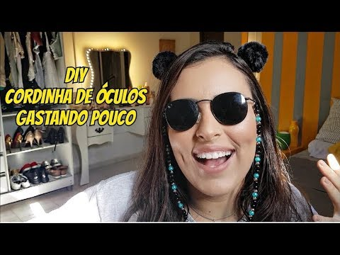 CORRENTINHA DE ÓCULOS! FAÇA A SUA! - YouTube 812d0600cc