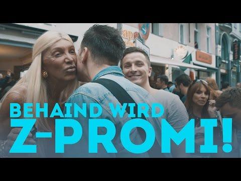 Aaron macht David Hain zum Z- Promi!