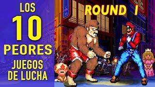 Top 10  - Los PEORES  VIDEOJUEGOS de LUCHA    ( Parte 1 )     Jugamer