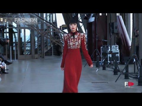 J AUTUMN FASHION SHOW 2014 Eiffel Tower Paris Shilpa Reddy by Fashion Channel