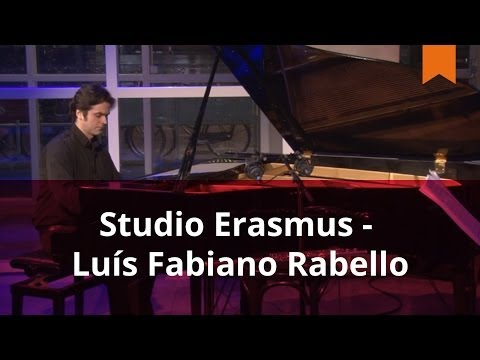 Luís Fabiano Rabello tijdens Studio Erasmus