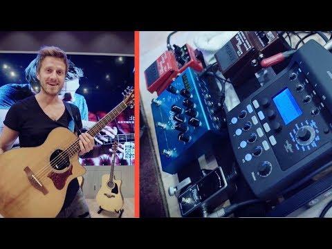My Best Sounding Acoustic Guitar Pedalboard [TRAVEL-Board Setup 🎸]