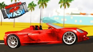 Supercar Wash | Car Wash Game For Toddlers