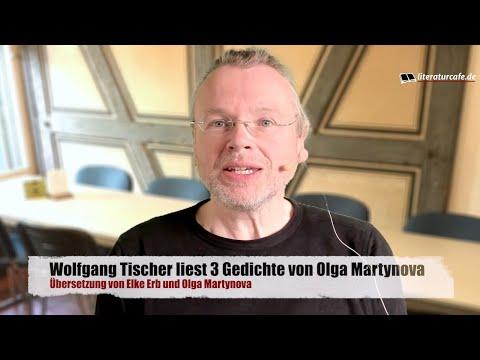 Drei Gedichte von Olga Martynova - Übersetzung Elke Erb, gelesen von Wolfgang Tischer