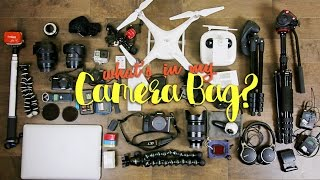 What's In My Camera Bag?  (Travel Filming Gear)