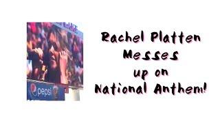 rachel platten messes up on national anthem