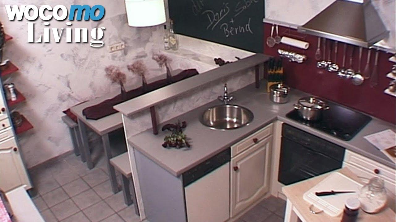 tapetenwechsel br landhaus k che fu ball zimmer staffel 5 folge 7 youtube. Black Bedroom Furniture Sets. Home Design Ideas