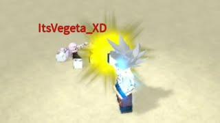 Dragon Ball batalha avançada-Goku vs Jiren vs Gohan [Roblox]