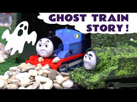 Thomas and Friends Ghost Train Prank by Tom Moss The Prank Engine with Funny Funlings TT4U