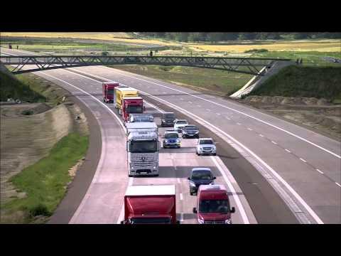 Mercedes-Benz Future Truck 2025 | Autonomous driving