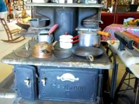 Glenwood Antique Wood Cooking Stove
