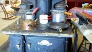 Glenwood Antique Wood Cooking Stove
