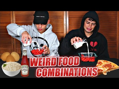 WEIRD Food Combinations people LOVE - Flamingeos