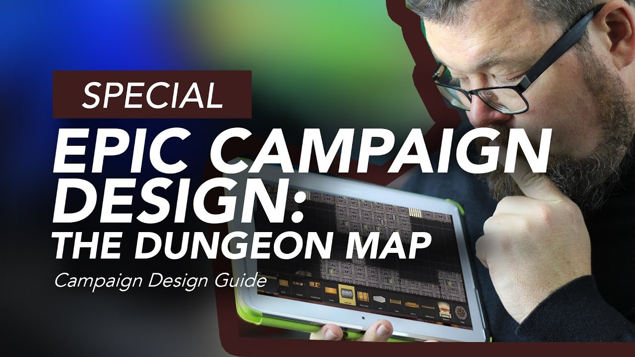 Epic Campaign Design: The Dungeon Map