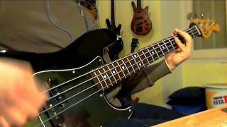 Deep Purple - Burn (Bass Cover by Jecks)