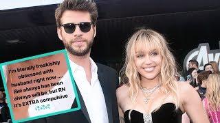 Miley Cyrus Obsesses Over 'Sugar Daddy' Liam Hemsworth