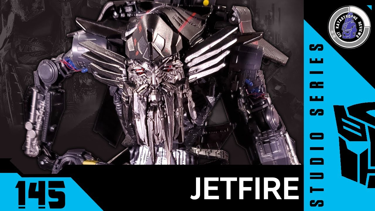Transformers: Studio Series JETFIRE Review By Kit Katastrophe